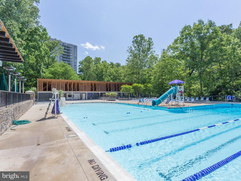 Somerset Pool - 4810 ESSEX AVE, CHEVY CHASE