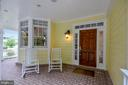 Inviting front porch. - 2702 24TH ST N, ARLINGTON