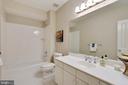 Full bath on lower level. - 2702 24TH ST N, ARLINGTON