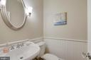 Main level powder room. - 2702 24TH ST N, ARLINGTON