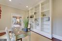 Floor to ceiling bookcases. - 2702 24TH ST N, ARLINGTON