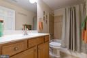 Bathrooms all have upgraded tile - 16060 IMPERIAL EAGLE CT, WOODBRIDGE