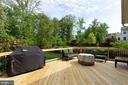 Large deck newly refurbished - 16060 IMPERIAL EAGLE CT, WOODBRIDGE