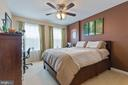 4th bedroom has private bath - 16060 IMPERIAL EAGLE CT, WOODBRIDGE