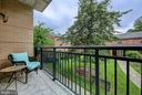 Balcony - 2501 WISCONSIN AVE NW #108, WASHINGTON
