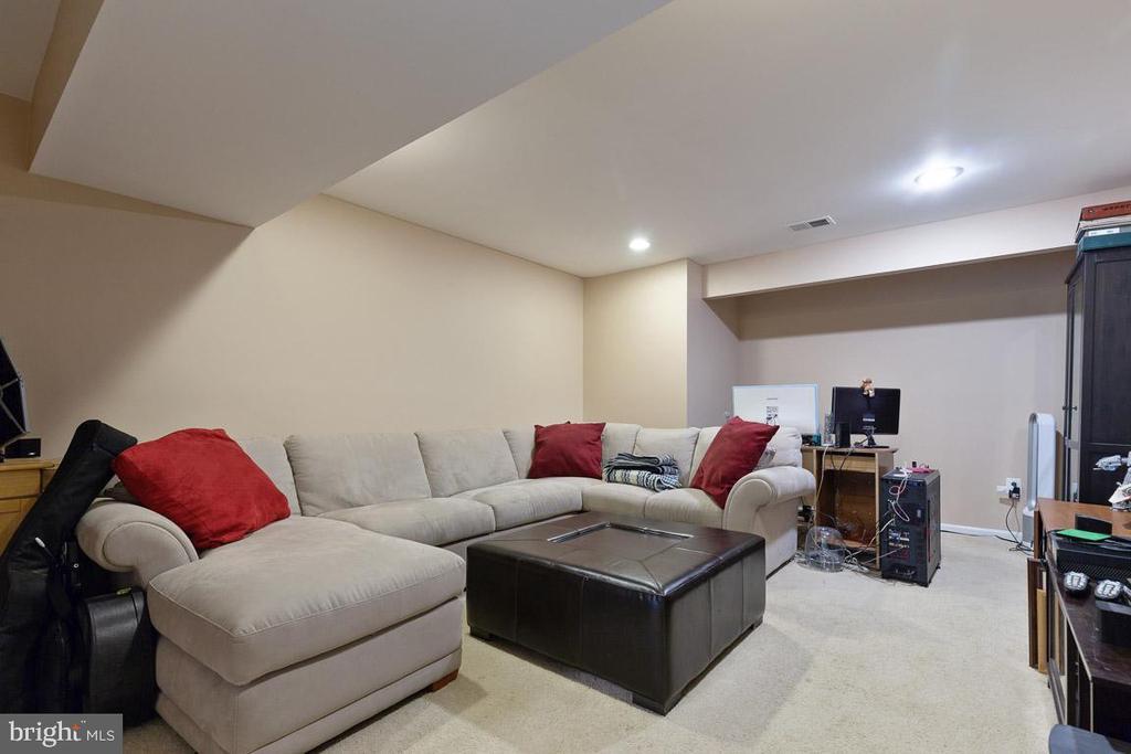 Additional room currently used as media room - 16060 IMPERIAL EAGLE CT, WOODBRIDGE