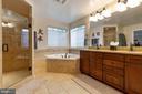 Mstr Ba w/HUGE walk in shower, upgraded tile - 16060 IMPERIAL EAGLE CT, WOODBRIDGE