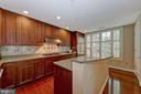 Kitchen - 2501 WISCONSIN AVE NW #108, WASHINGTON