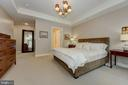 Master Bedroom - 2501 WISCONSIN AVE NW #108, WASHINGTON