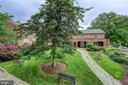 View to Church Courtyard - 2501 WISCONSIN AVE NW #108, WASHINGTON