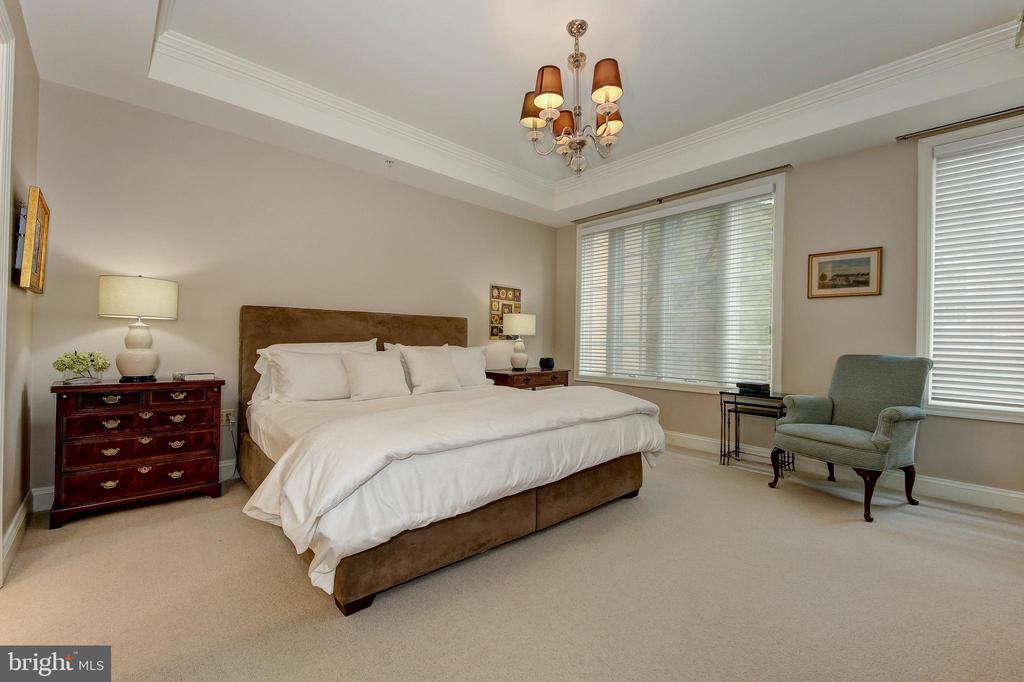 Master Bedroom with Walk-In Closet - 2501 WISCONSIN AVE NW #108, WASHINGTON