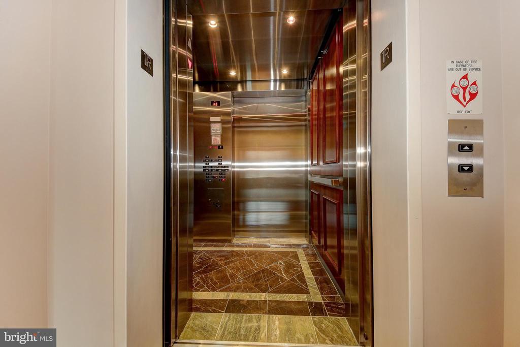 Hall Elevator Entrance - 2501 WISCONSIN AVE NW #108, WASHINGTON