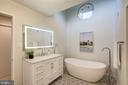 Completely remodeled master bath! - 2002 TURTLE POND DR, RESTON