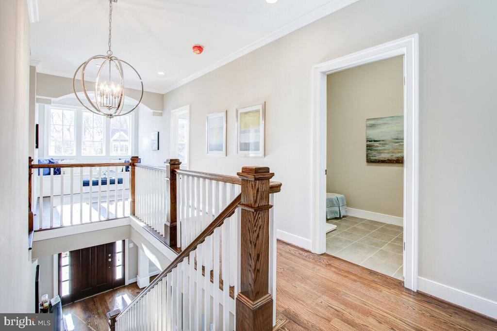 Upper Level Hallway - This is an example picture! - 9514 FOREST RD, BETHESDA
