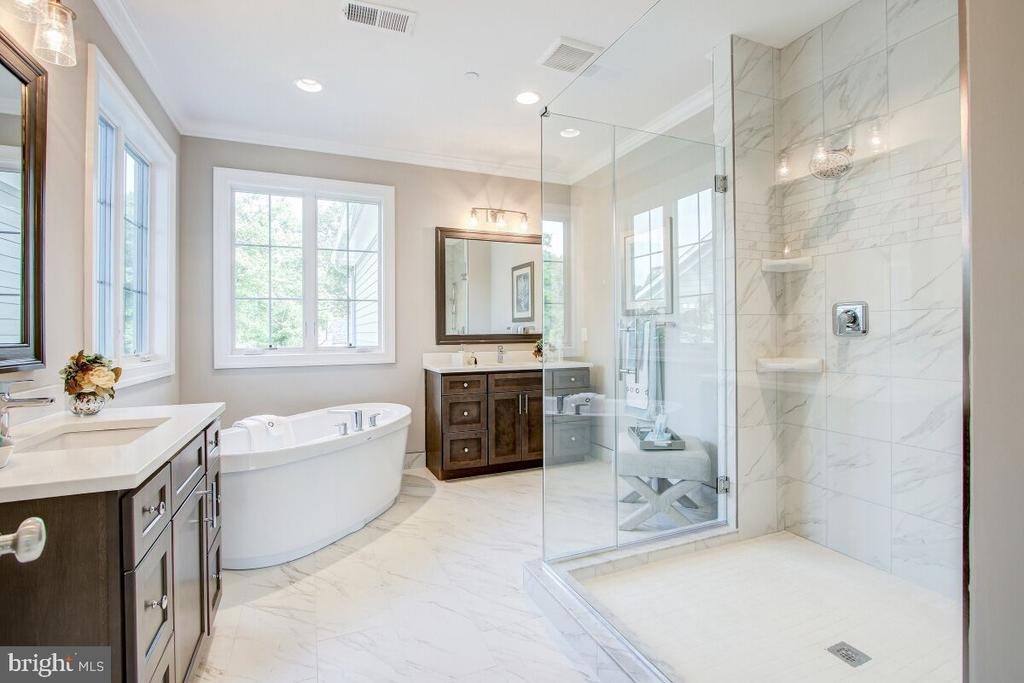 Master Suite Bath - This is an example picture! - 9514 FOREST RD, BETHESDA