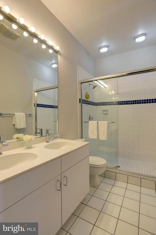 Refreshed bathroom is bright, clean, and spacious - 627 A ST SE, WASHINGTON