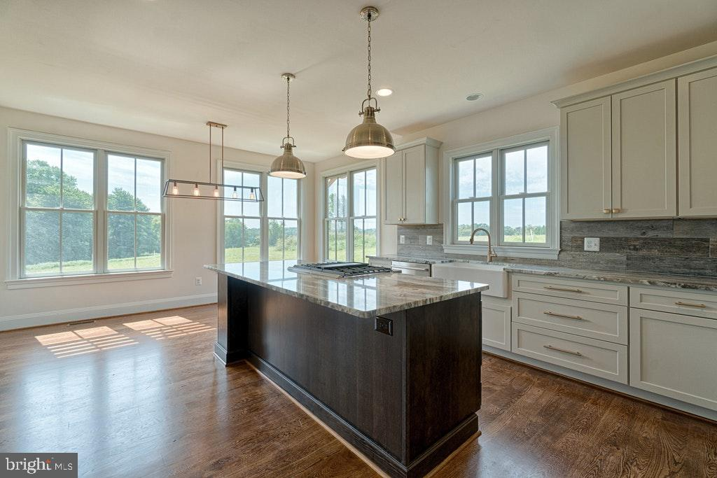 Bright southern facing kitchen - 38161 COBBETT LN, PURCELLVILLE