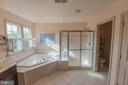 Master Bath with Tub and Separate Shower - 187 HEWITT, MARTINSBURG