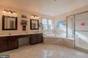 Master Bath with Double Vanities - 187 HEWITT, MARTINSBURG