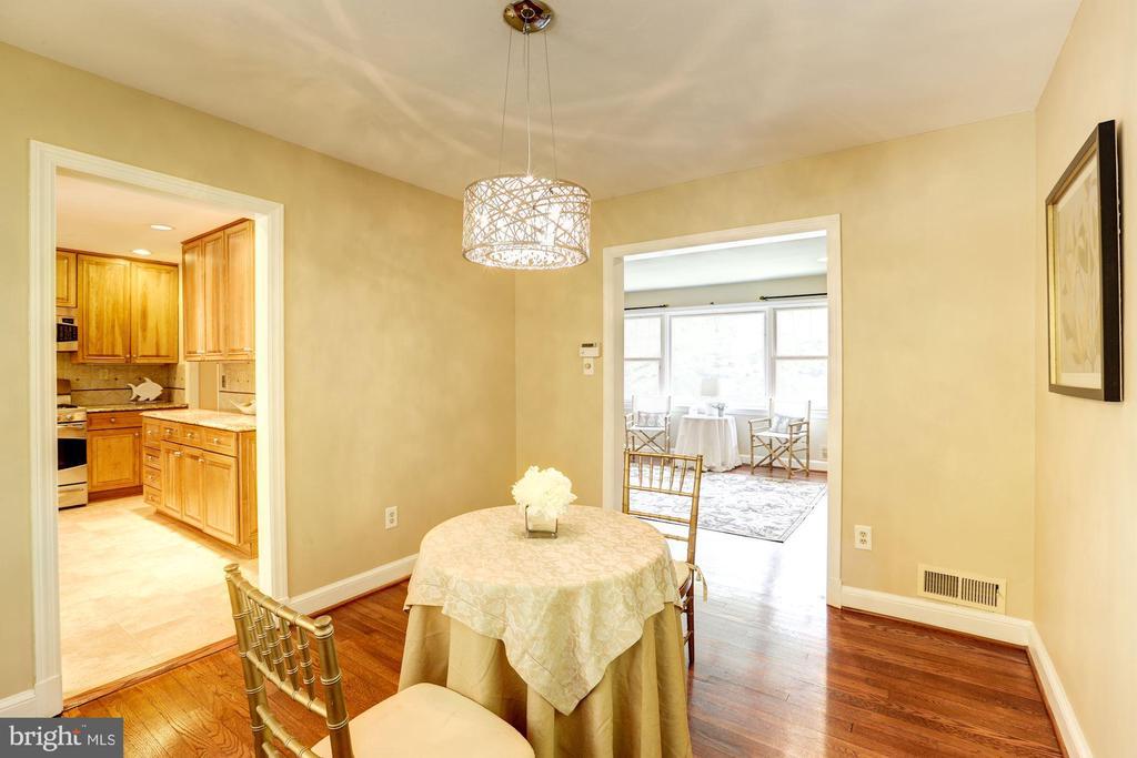 Separate Formal Dining Room - 2337 N VERMONT ST, ARLINGTON