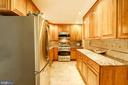 Renovated Kitchen w/Granite Counter Prep Station - 2337 N VERMONT ST, ARLINGTON
