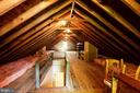 Walk-Up Attic Perfect For Expansion - 2337 N VERMONT ST, ARLINGTON