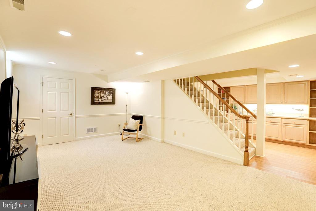 Spacious Lower Level Rec Room - 2337 N VERMONT ST, ARLINGTON