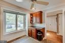 Bright view from the Kitchen - 4045 LAKE GLEN RD, FAIRFAX