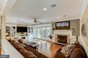 Love this Living Room - 4045 LAKE GLEN RD, FAIRFAX