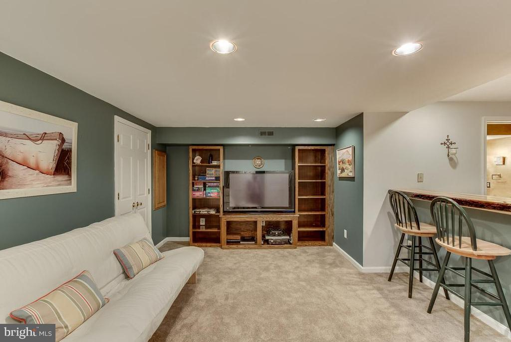 this lower level is a must see - 4045 LAKE GLEN RD, FAIRFAX