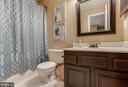 hall bath - 4045 LAKE GLEN RD, FAIRFAX