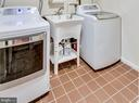 The washer and dryer convey! - 3703 MACGREGOR CT, ANNANDALE