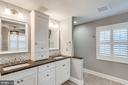 Totally renovated master spa bath - 3703 MACGREGOR CT, ANNANDALE