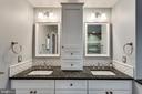 Double vanity, granite & marble! - 3703 MACGREGOR CT, ANNANDALE