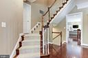 Turned Oak Staircase - 43603 CATCHFLY TER, LEESBURG