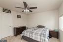 Bedroom #3 W/ Walk In Closet - 5719 PINEY GLADE RD, FREDERICKSBURG
