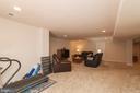 Lower Level Rec Room W/ Recessed Lights - 5719 PINEY GLADE RD, FREDERICKSBURG