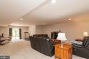 Lower Level Rec Room W/ SGD For Rear Access - 5719 PINEY GLADE RD, FREDERICKSBURG