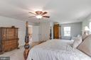 Master Bedroom W/ Sitting Room - 5719 PINEY GLADE RD, FREDERICKSBURG