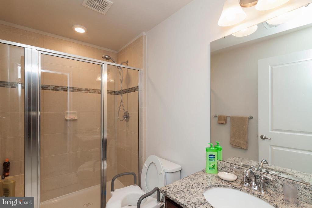 Lower Level Full Bath W/ Shower - 5719 PINEY GLADE RD, FREDERICKSBURG