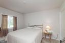Lower Level Bedroom W/ Walk In Closet - 5719 PINEY GLADE RD, FREDERICKSBURG