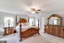 Master Bedroom  W/ 2 Walk In Closets - 5719 PINEY GLADE RD, FREDERICKSBURG