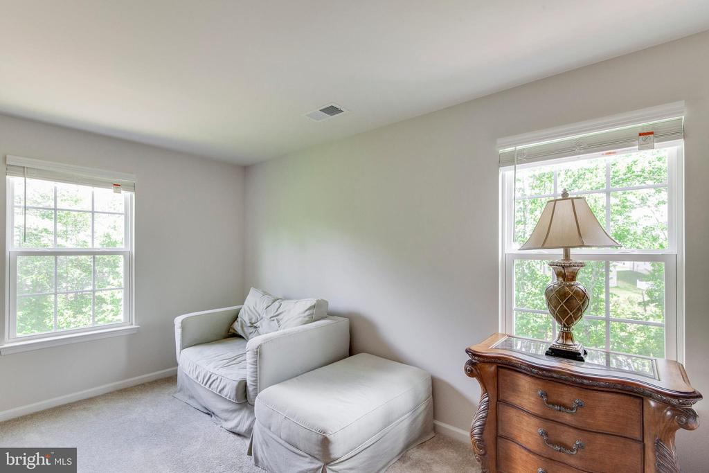 Sitting Room In Master Bedroom W/ Great Natural Lt - 5719 PINEY GLADE RD, FREDERICKSBURG