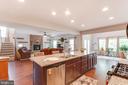Gourmet Island W/ Beautiful Granite Counters - 5719 PINEY GLADE RD, FREDERICKSBURG