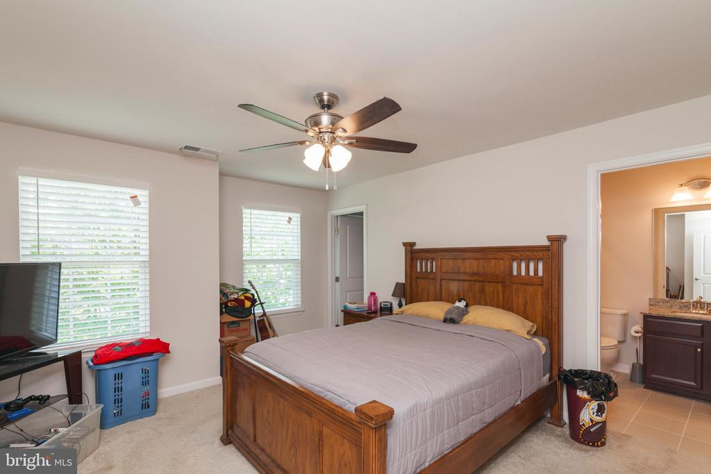 Bedroom #2 With Private Bath - 5719 PINEY GLADE RD, FREDERICKSBURG