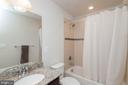 Upstairs Hall Bath - 5719 PINEY GLADE RD, FREDERICKSBURG