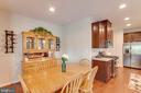 Dinette Space Off Eat In Kitchen - 5719 PINEY GLADE RD, FREDERICKSBURG