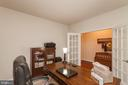 Front Office on Main Level W/ French Doors - 5719 PINEY GLADE RD, FREDERICKSBURG
