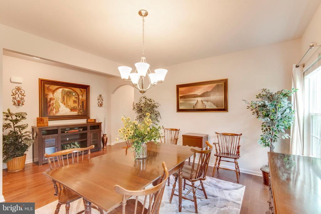 Dining Room With Space For A Large Table - 5719 PINEY GLADE RD, FREDERICKSBURG