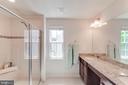 Master En Suite With Double Vanity & Roman Shower - 5719 PINEY GLADE RD, FREDERICKSBURG